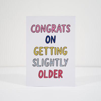 Biglietti di auguri - Biglietto di compleanno Slightly Older