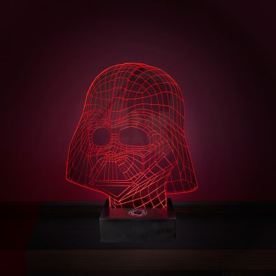 Idee regalo amico - Lampada LED Star Wars - Effetto 3D