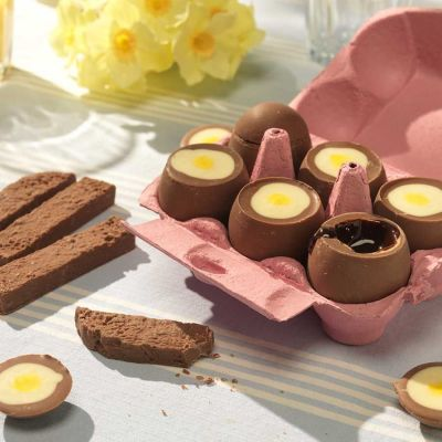 Dolce - Uova di Cioccolato Ripiene