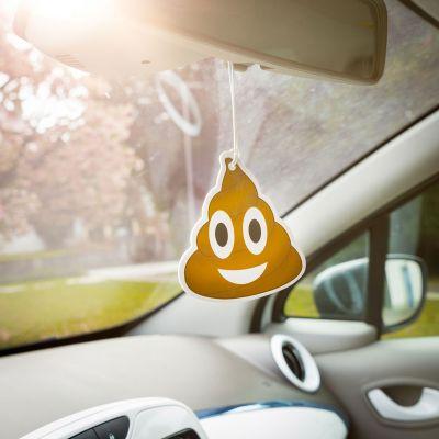 Regali compleanno per lei - Emoji Poop - deodorante per auto