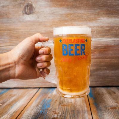 Tazze & Bicchieri - Bicchiere da Birra Sempre Pieno