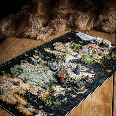 Regalo compleanno amico - Puzzle 3D di Game of Thrones