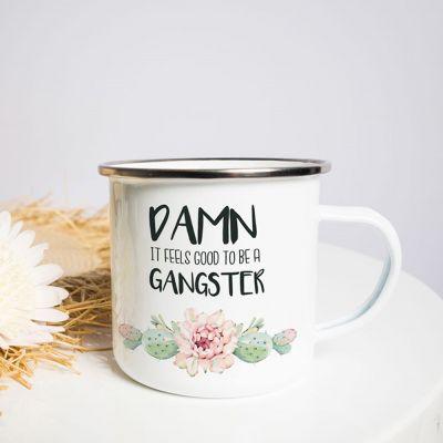 Regali romantici - Tazza in Metallo Gangster