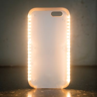 Gadget & Elettronica - Custodia Luminosa Powerbank per iPhone 6/6S/7