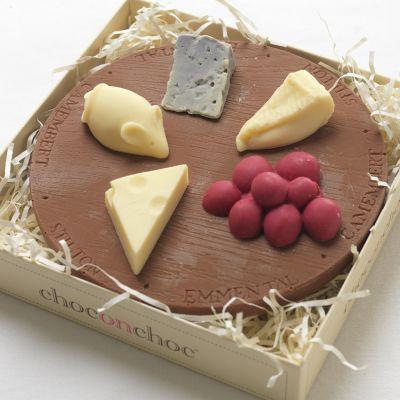 Regali romantici - Tagliere di Formaggi di Cioccolato