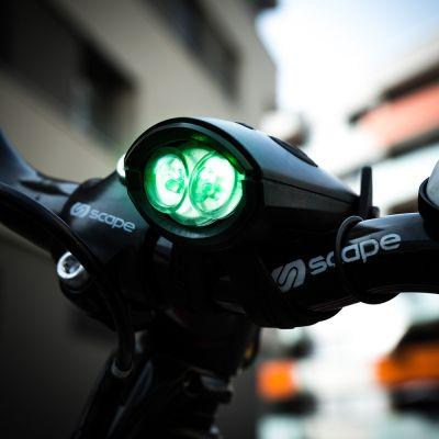 Outdoor & Sport - Clacson per Bici con Luce - Mini Hornit
