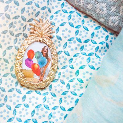 Decorazione - Cornice Ananas