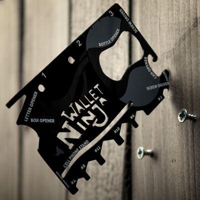 Gadget da Viaggio - Carta Ninja 18 Attrezzi In 1