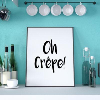Poster - Poster Oh Crêpe