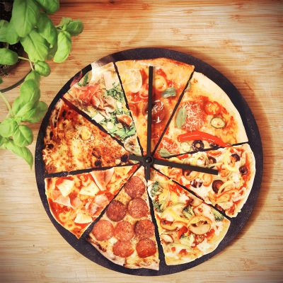 Regali curiosi - Orologio Pizza