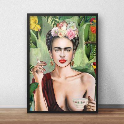Prodotti esclusivi - Poster Frida di Nettsch