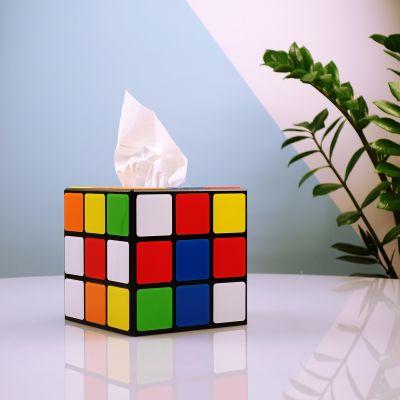 Regali per coppia - Porta Fazzoletti Cubo di Rubik da Big Bang Theory