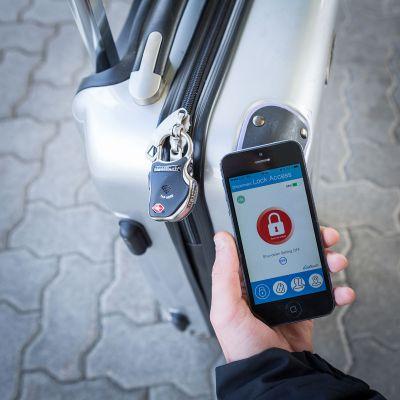 Regali di Natale per Mamma - Lucchetto Smart Bluetooth per Bagagli