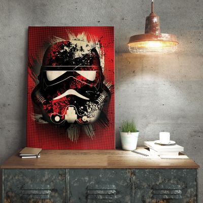 Poster - Poster di metallo Star Wars - Stormtrooper Splatter