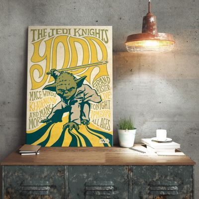 Poster - Poster di metallo Star Wars – Yoda