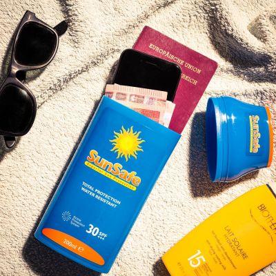 Idee regalo amico - SunSafe – Crema Solare Cassaforte