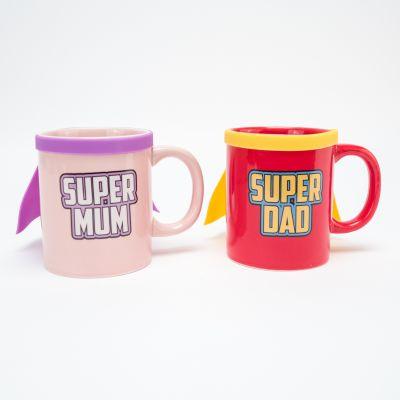 Regali di Natale per Mamma - Tazze Super Mum & Super Dad