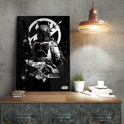 L'Universo Di Star Wars - Poster di metallo Star Wars – Slave 1 Boba Fett