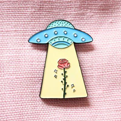 Accessori - Spilletta UFO e Rosa