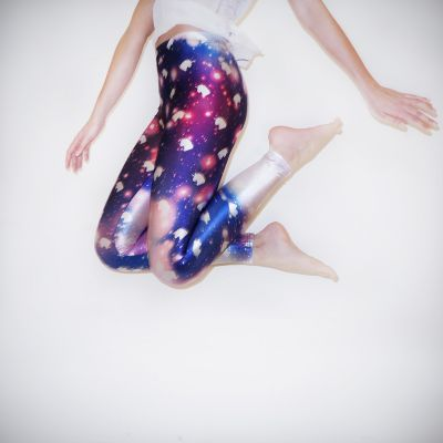 Saldi - Leggings Unicorno Galaxy