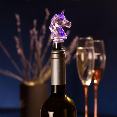 Regali romantici - Tappo di bottiglia LED Unicorno