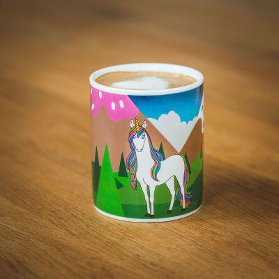 Regali Unicorno - Tazza Termosensibile Unicorno