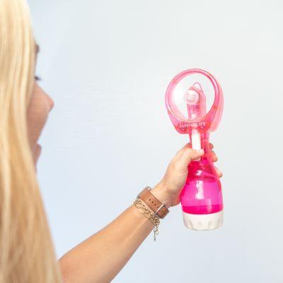 Outdoor - Ventilatore Spray Rosa