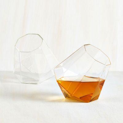 Regali San Valentino per Uomo - Bicchieri Whisky Diamante – set da 2