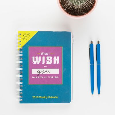 Regali di compleanno 30 anni - Agenda What I Wish For You