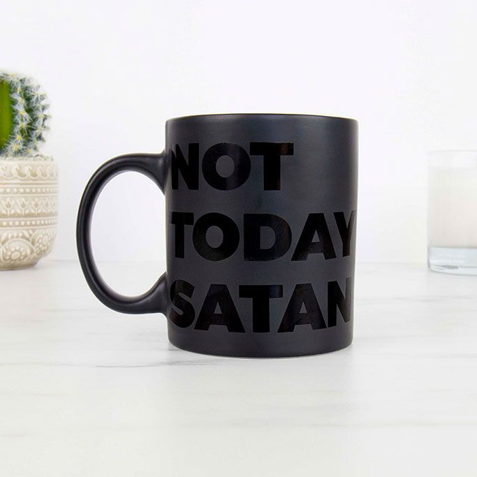 Tazza Not Today Satan