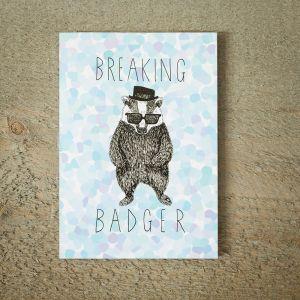 Biglietto D'Auguri Breaking Badger