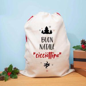 Sacco di Natale Personalizzabile