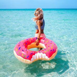 Ciambella Gonfiabile Gigante a forma di Donut