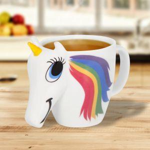 Tazza Unicorno cambia colore
