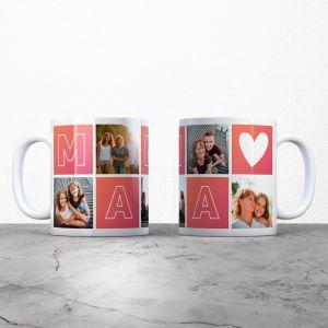 Tazza personalizzabile Mamma con immagini