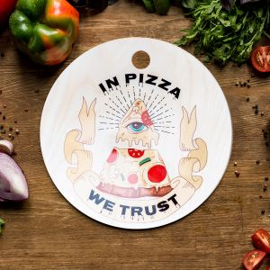 Tagliere In Pizza We Trust