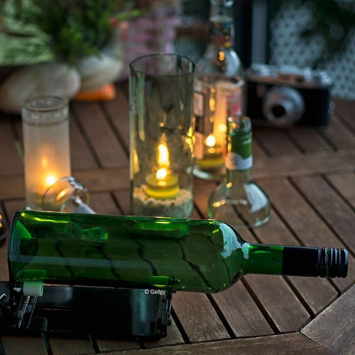 Taglia Bottiglie Di Vetro.Tagliatore Di Bottiglie Bottle Cutter Troppotogo