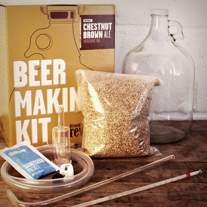 Kit Per Fare La Propria Birra Brooklyn Brew Boutique