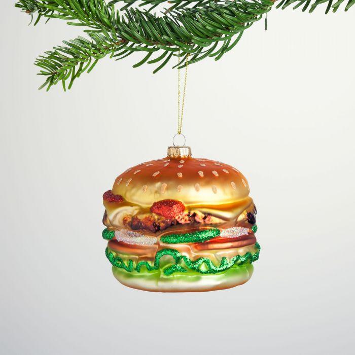 palla di Natale hamburger