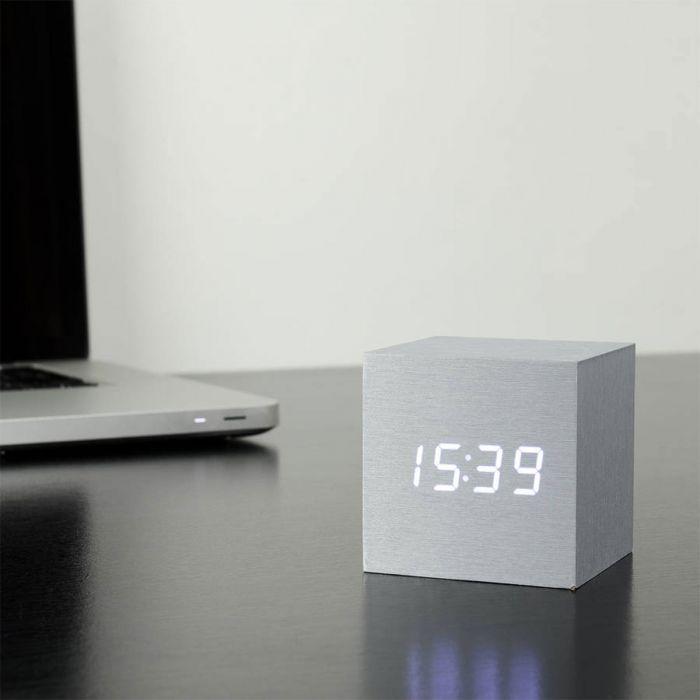 Orologio Cube Click Clock