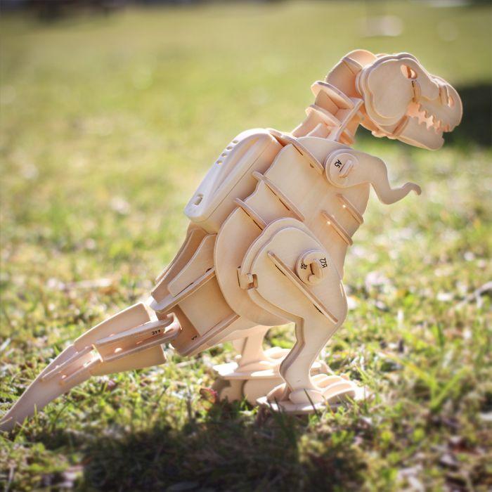 T Rex Fai da Te – kit di montaggio in legno