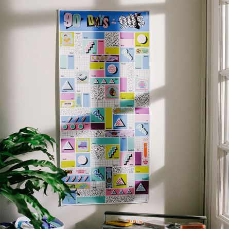 Poster da Grattare sugli Anni '90