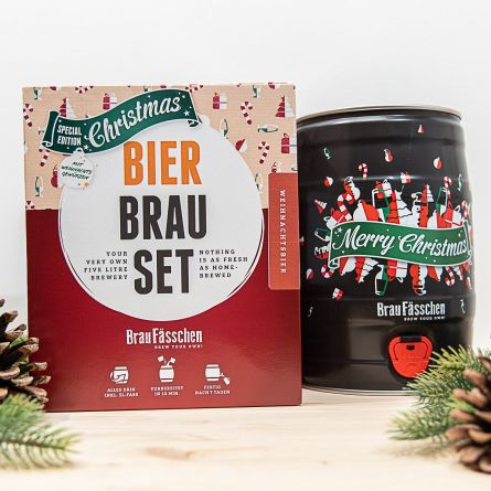 Kit per Birra Fai da Te - Edizione Natalizia