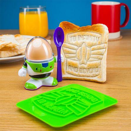 Portauovo di Buzz Lightyear con Stampo per Toast
