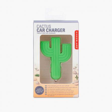 Caricabatterie da Auto Cactus