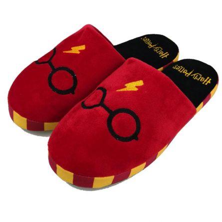 Pantofole Harry Potter con Occhiali e Saetta