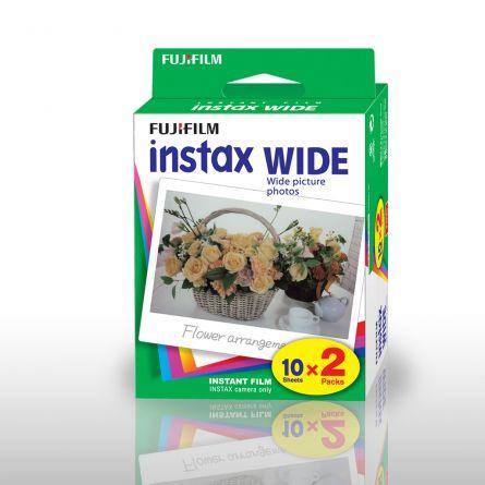 Carta fotografica per Fuji Instax WIDE - set da 2