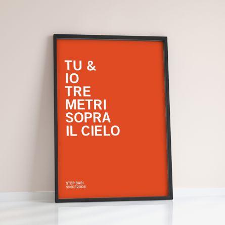 You + Me + … - Poster Personalizzabile