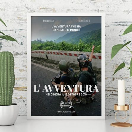 Poster personalizzabile imitazione locandina di film