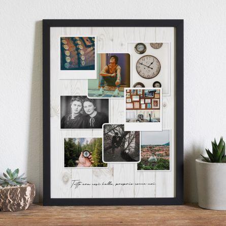 Poster Fotografico Personalizzabile – Look Vintage